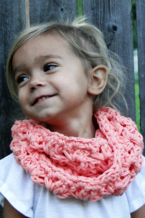 Crochet Cowls Unique Crochet Cowl for Kids Girls Scarf Kids Infinity Scarf Of Perfect 45 Photos Crochet Cowls