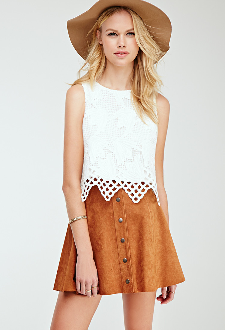Crochet Crop top forever 21 Unique forever 21 Floral Crochet Crop top You Ve Been Added to Of Innovative 40 Images Crochet Crop top forever 21