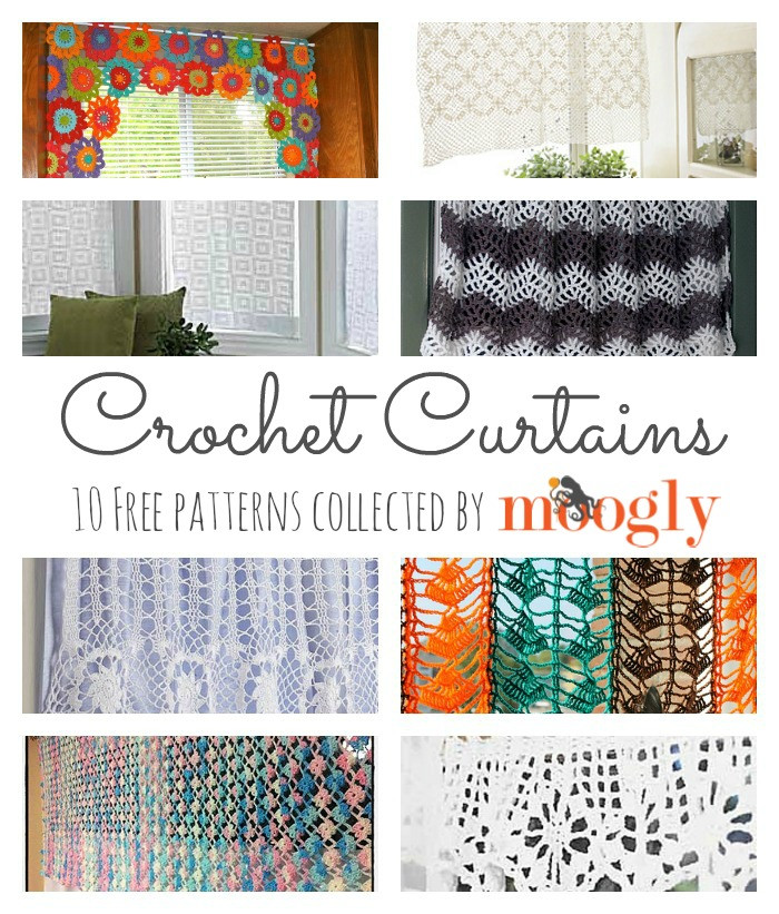 Crochet Curtain Inspirational 10 Free Crochet Curtain Patterns Collection by Moogly Of Adorable 40 Models Crochet Curtain