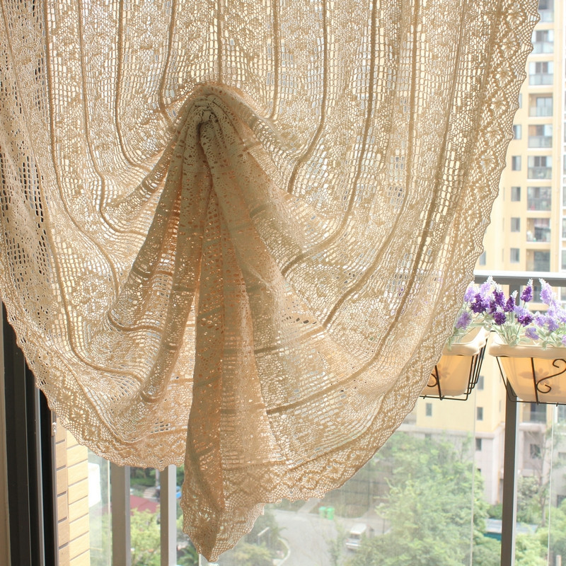 Crochet Curtain Inspirational Vintage Style Crochet Curtains French Cotton Handmade Of Adorable 40 Models Crochet Curtain