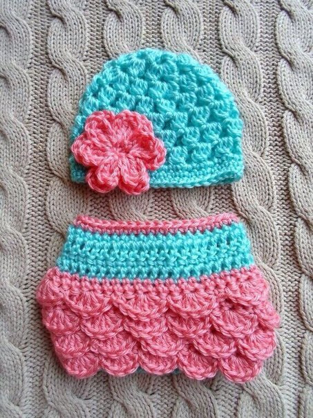 Crochet Diaper Cover New Crochet Baby Hat and Diaper Cover Of Top 48 Ideas Crochet Diaper Cover