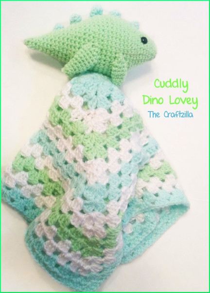 Crochet Dinosaur Blanket New the Craftzilla Dinosaur Lovey Blanket Of Awesome 40 Images Crochet Dinosaur Blanket