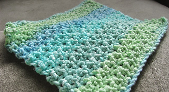 Crochet Dishcloth Pattern Best Of [free Pattern] This Makes A Loose Thinner Dishcloth Than Of Marvelous 42 Pics Crochet Dishcloth Pattern