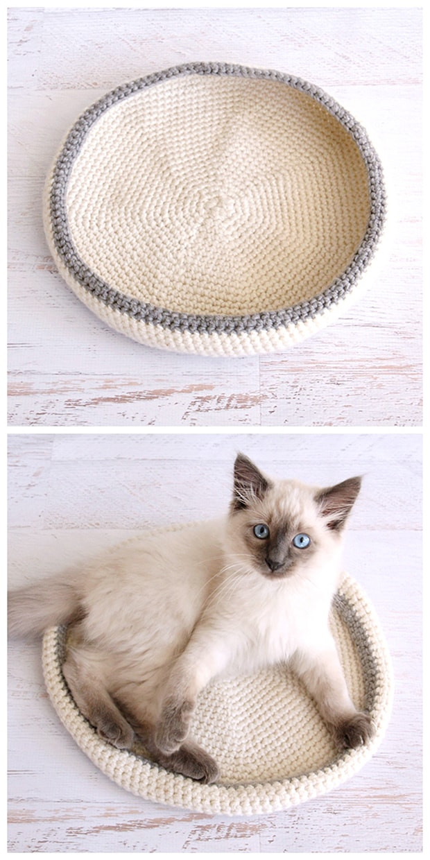Crochet Dog Beds Inspirational 20 Crafts for Cat Lovers Little Red Window Of Charming 50 Ideas Crochet Dog Beds