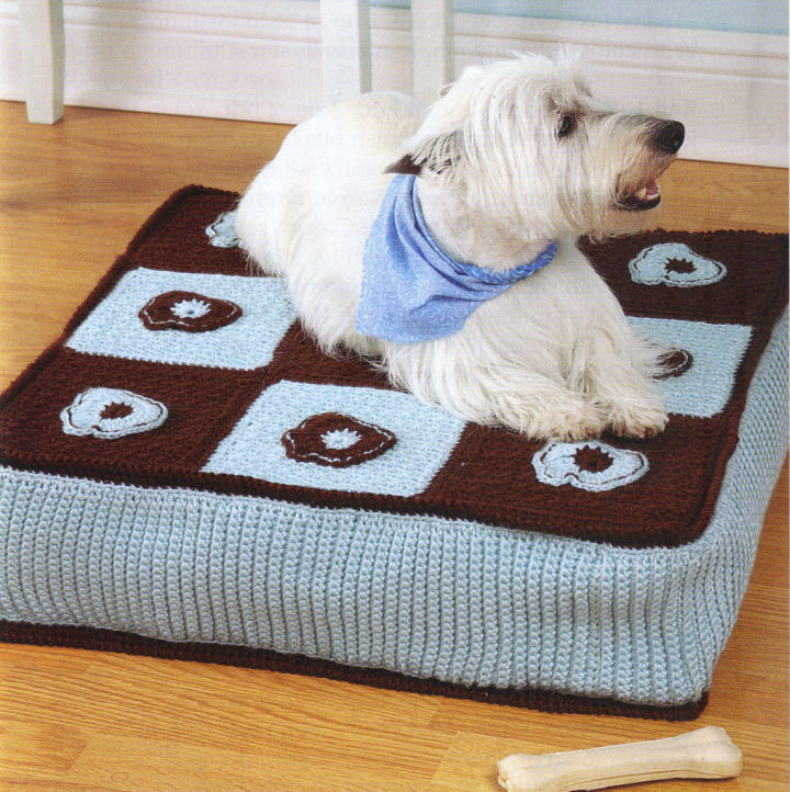 Dog Bed Crochet Patterns Patterns Kid Dog Beds and Costumes