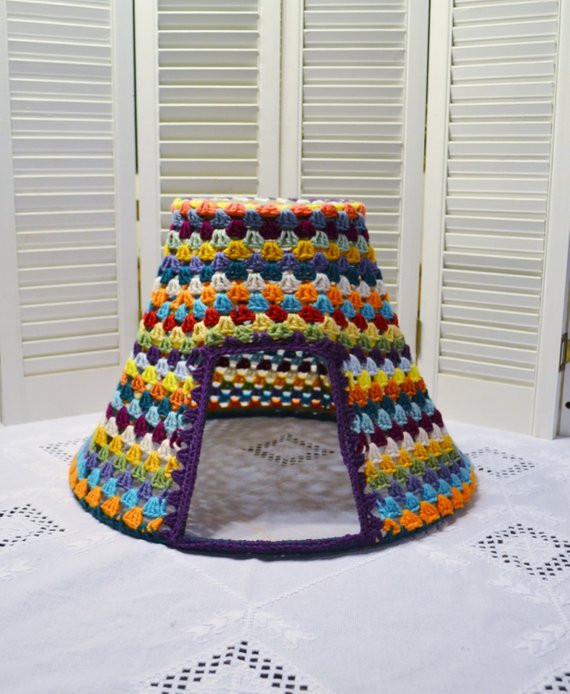 Crochet Dog Beds Lovely Crochet Cat Teepee Cave Pet Bed Upcycled by Littlestsister Of Charming 50 Ideas Crochet Dog Beds