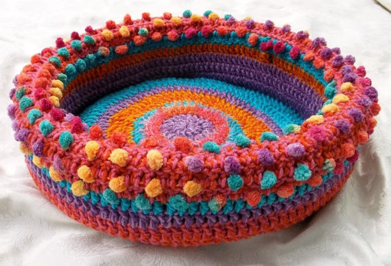 Crochet Dog Beds New Fun and Easy Crochet for Our Favorite Furry Friends Of Charming 50 Ideas Crochet Dog Beds