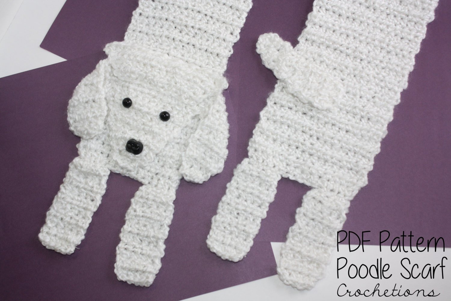 Crochet Dog Best Of Crochet Pattern Poodle Scarf Dog Breed Scarf Puppy Scarf Of Perfect 50 Images Crochet Dog
