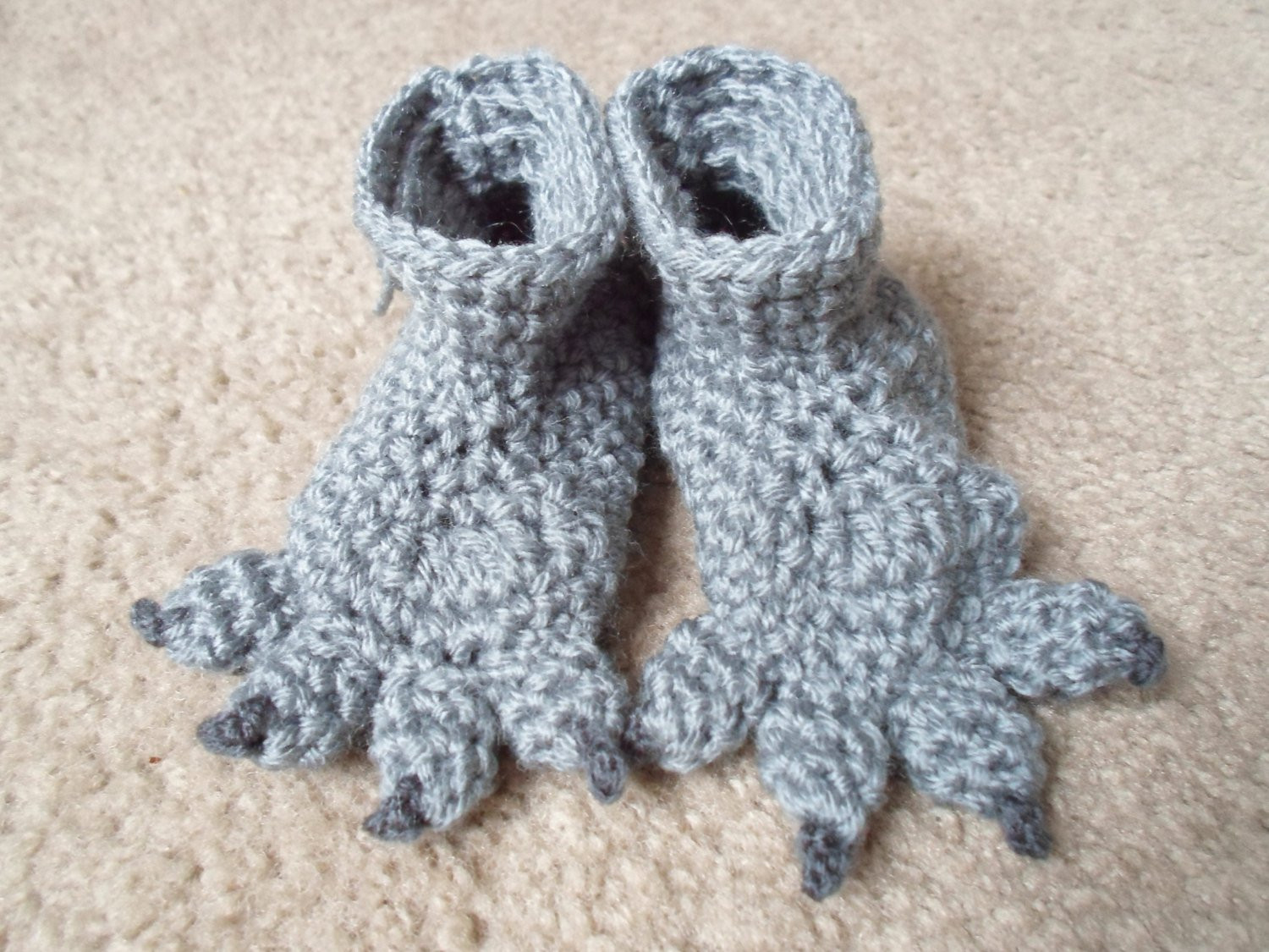Crochet Dog Booties Inspirational Crochet Monster Wolf Dog Booties Available In Sizes Of Charming 34 Photos Crochet Dog Booties