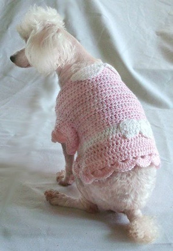 Crochet Pattern dog sweater crochet pattern dog shirt