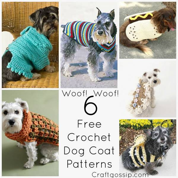 Crochet Dog Coat Pattern Luxury 6 Great Dog Coats Patterns to Keep Your Doggie Warm – Crochet Of Marvelous 41 Photos Crochet Dog Coat Pattern