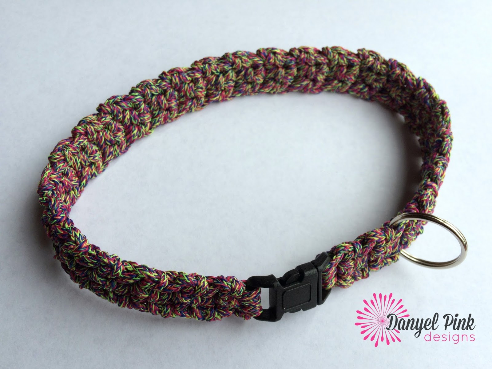 Crochet Dog Collar Beautiful Danyel Pink Designs Crochet Pattern Cordial Pet Collar Of Gorgeous 50 Ideas Crochet Dog Collar