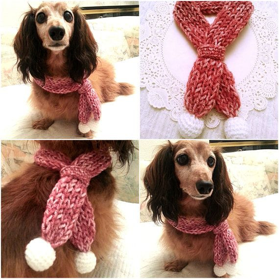 Crochet Dog Collar Beautiful Dog Scarf Dog Collar Dog Bandana Dog Cowl Crocheted_crochet Dog Collar