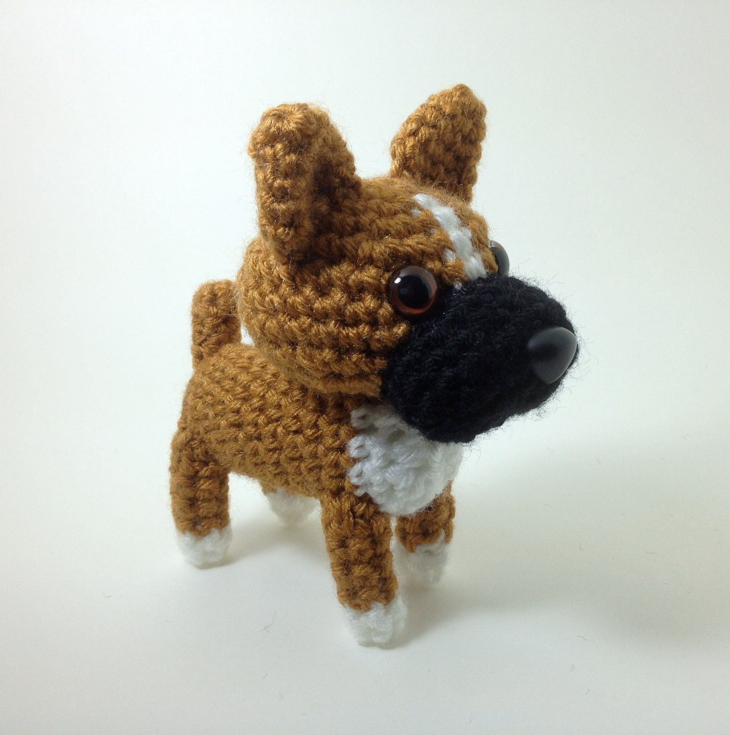 Crochet Dog Fresh Boxer Amigurumi Dog Crochet Dog Hand Made Stuffed by Of Perfect 50 Images Crochet Dog