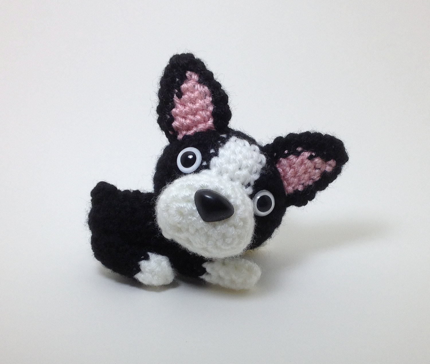 Crochet Dog Inspirational Boston Terrier Plush Puppy Stuffed Animal Handmade Crochet Dog Of Perfect 50 Images Crochet Dog