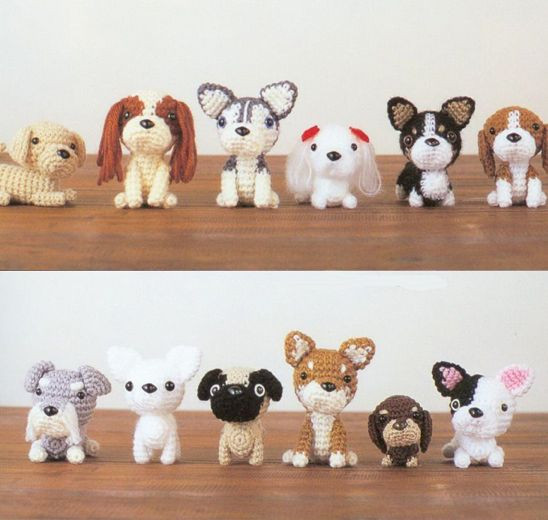 Crochet Dog Inspirational Japanese Amigurumi Dogs Of Perfect 50 Images Crochet Dog