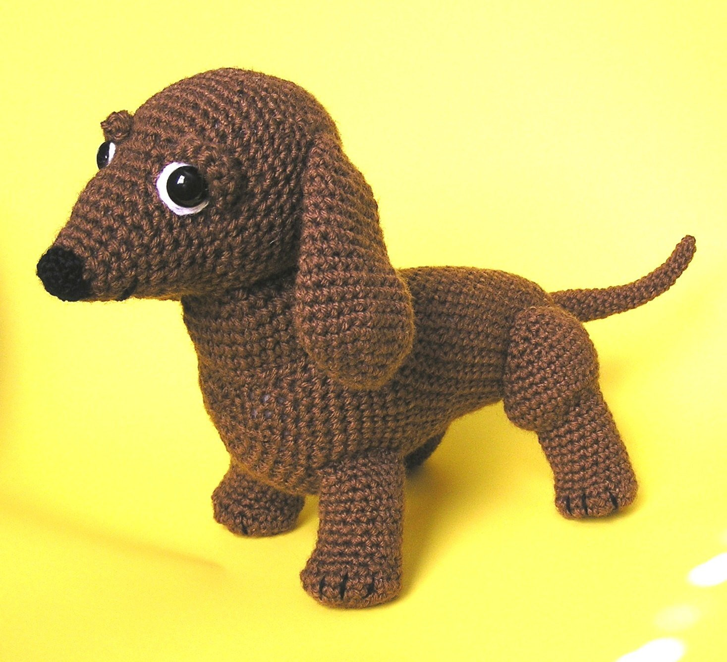 Crochet Dog Pattern Luxury Pdf Crochet Pattern Oscar the Weiner Dog English Only Of Brilliant 41 Images Crochet Dog Pattern