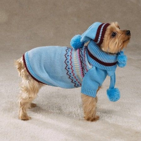 Small Easy Crochet Dog Sweater Patterns
