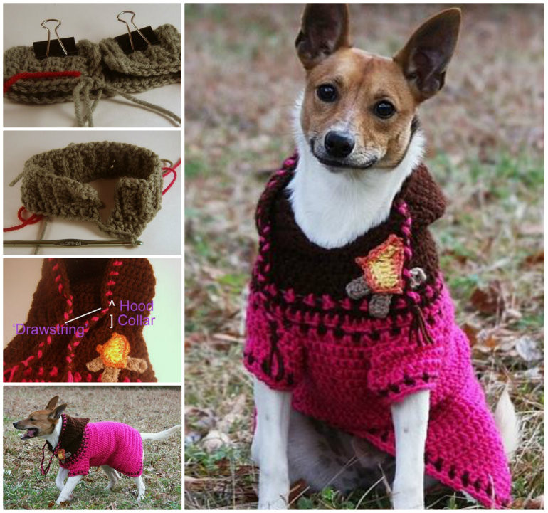 Crochet Dog Sweater with Legs Unique Diy Crochet Dog Hoo Of Gorgeous 40 Images Crochet Dog Sweater with Legs