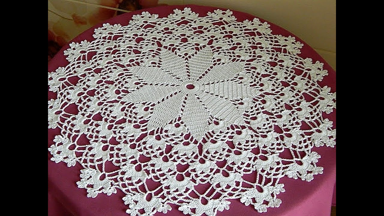 Crochet Doilies Awesome Crochet How to Crochet Doily Tutorial 1 5 Round Part 1 Of Incredible 43 Ideas Crochet Doilies