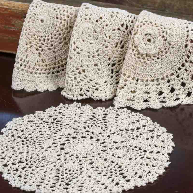 Crochet Doilies Awesome Ecru Round Crocheted Doilies Crochet and Lace Doilies Of Incredible 43 Ideas Crochet Doilies