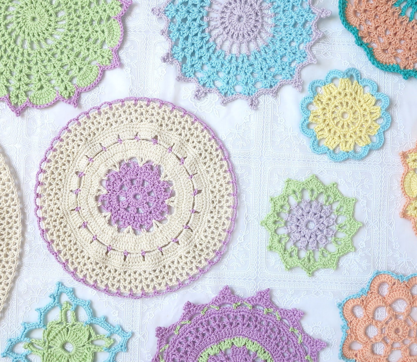 Crochet Doilies Beautiful byhaafner Crochet A Cloud Of Doilies Of Incredible 43 Ideas Crochet Doilies