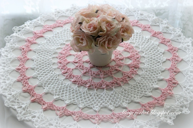 Crochet Doilies Inspirational Lacy Crochet Honeysuckle Doily Free Vintage Pattern Of Incredible 43 Ideas Crochet Doilies