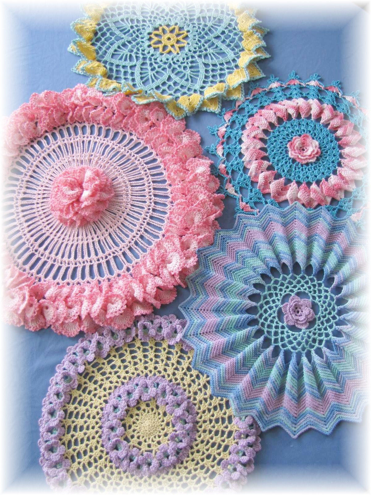 Crochet Doilies Lovely Bellacrochet Ripples Ruffles and Roses is now Available Of Incredible 43 Ideas Crochet Doilies