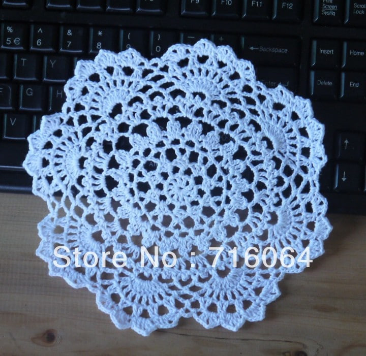 Crochet Doily Patterns Elegant Decorate Your Home with Free Crochet Doily Patterns Of Contemporary 43 Pics Crochet Doily Patterns