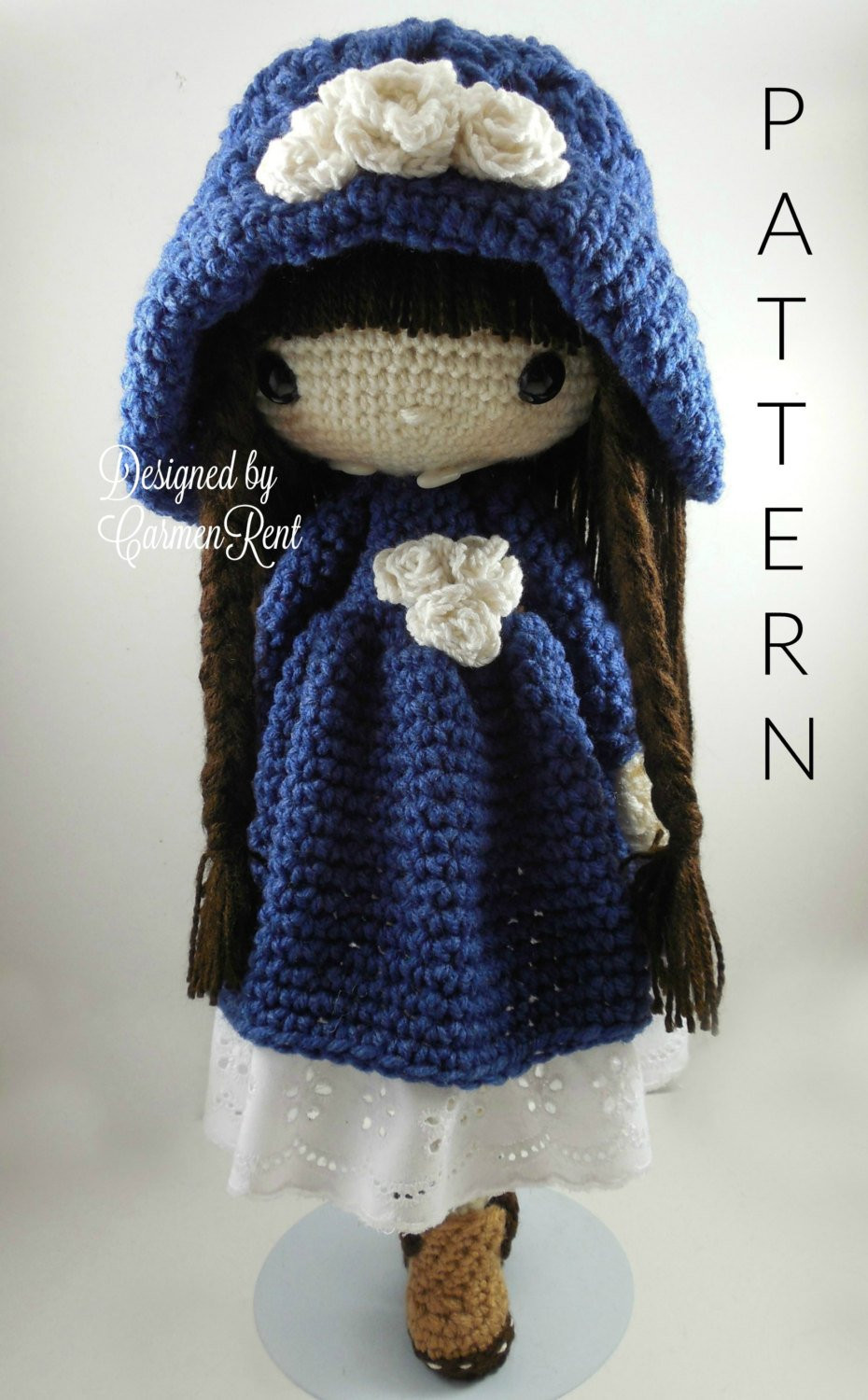 Crochet Doll Awesome Matilda Amigurumi Doll Crochet Pattern Pdf Of Crochet Doll Inspirational Snow White Doll Crochet Pattern