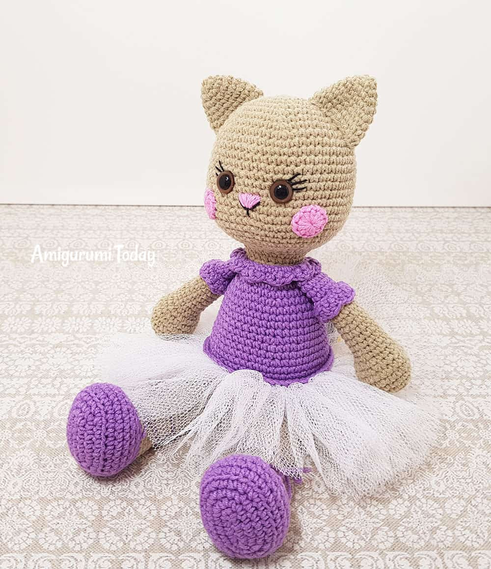 Crochet Doll Beautiful Ballerina Cat Doll Crochet Pattern Amigurumi today Of Crochet Doll Inspirational Snow White Doll Crochet Pattern