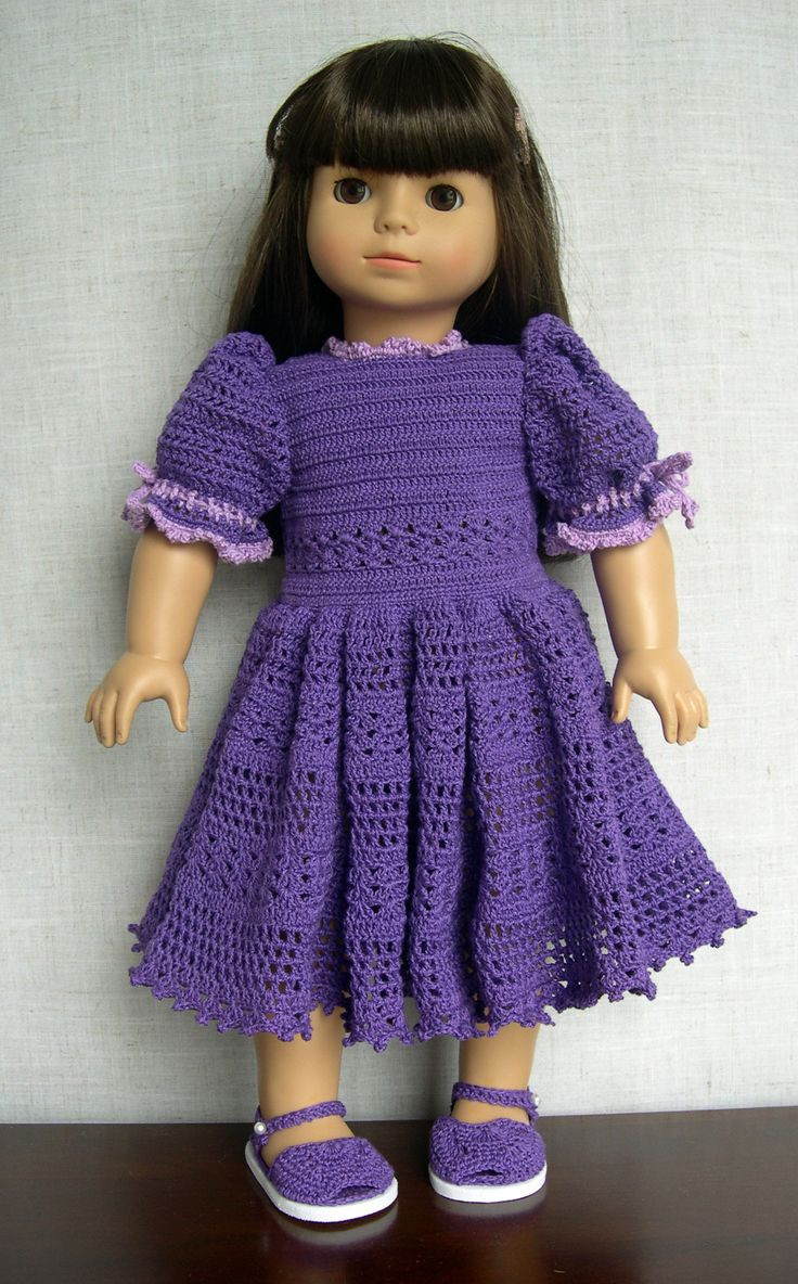 17 Best images about Knit Crochet Doll Outfits on