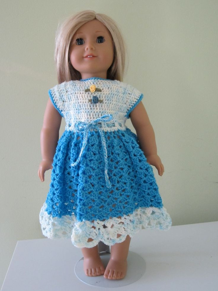 Crochet Doll Clothes Best Of Crochet American Girl Doll Dresses Our Generation 18 Of Fresh 48 Images Crochet Doll Clothes