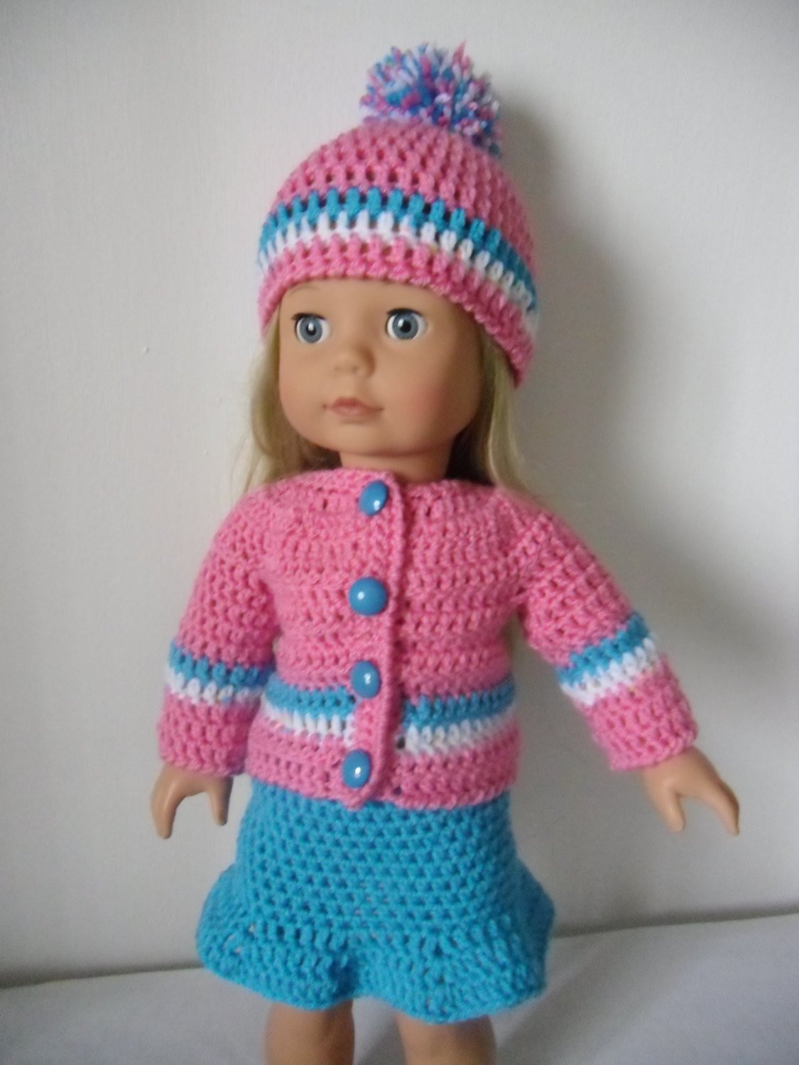 Crochet Doll Clothes Best Of Crochet Pattern Pdf for 18 Inch Doll American Girl Doll Of Fresh 48 Images Crochet Doll Clothes