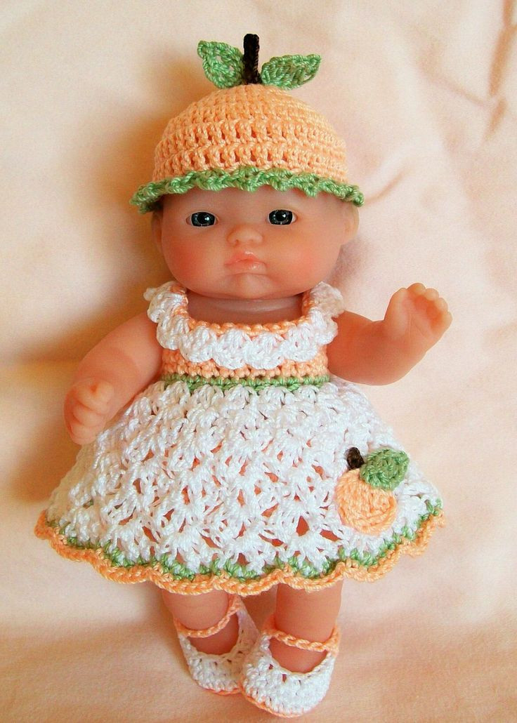 Crochet Doll Clothes Elegant Clothes Crochet 5 Inch Itty Bitty Lots to Love Reborn Of Fresh 48 Images Crochet Doll Clothes