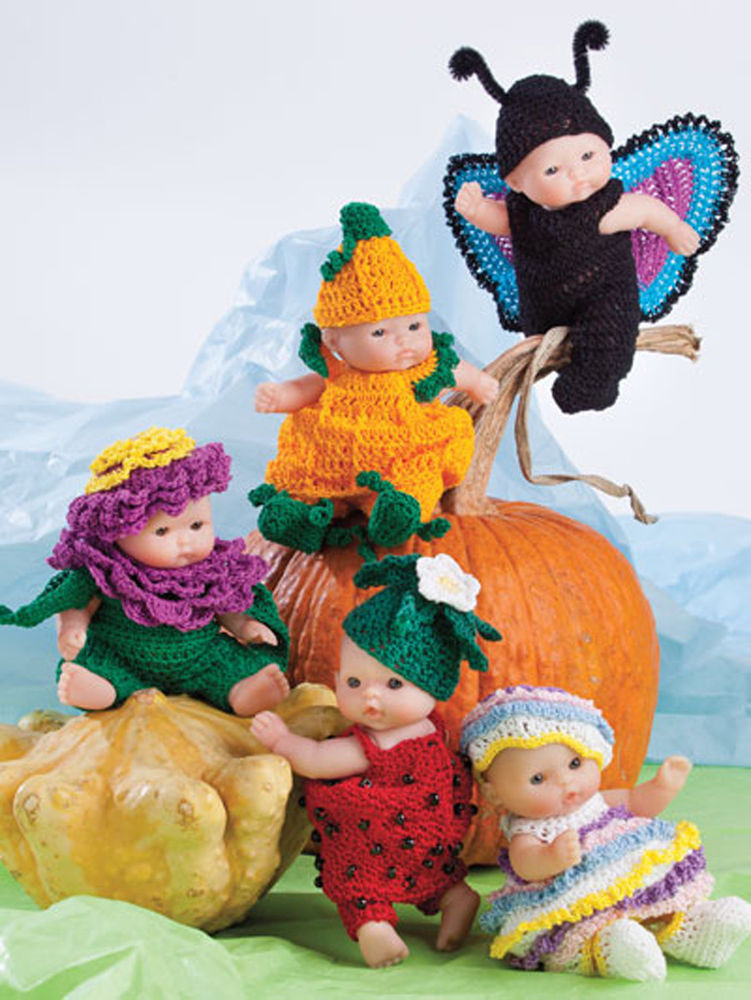 """Crochet Doll Clothes Inspirational Christmas Berenguer Lots F Love Cute as Pie 5"""" Doll Of Fresh 48 Images Crochet Doll Clothes"""