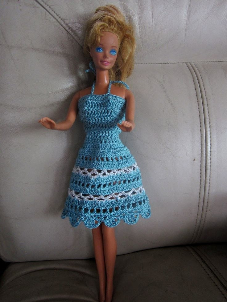 Crochet Doll Clothes Inspirational Free Crochet Barbie Dresses Of Fresh 48 Images Crochet Doll Clothes