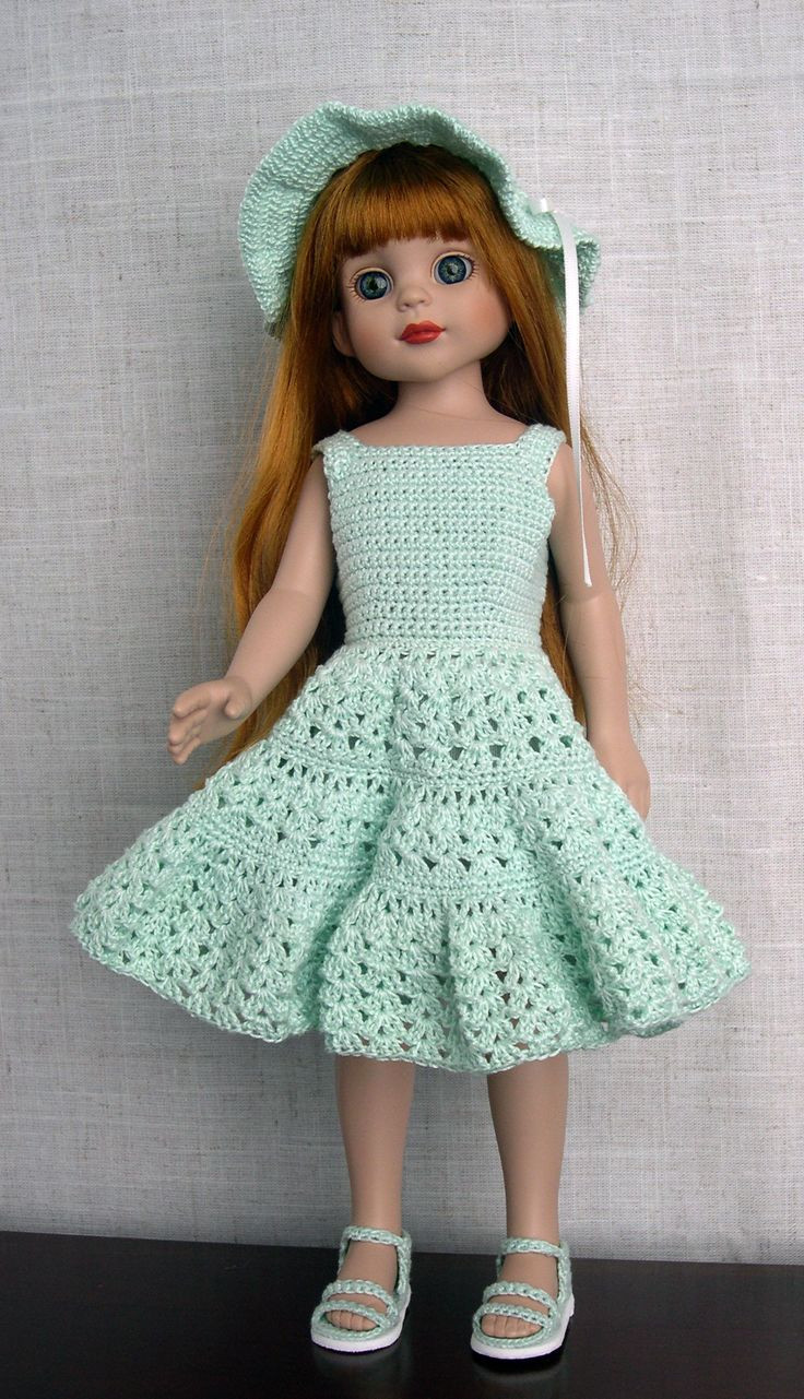 Crochet Doll Dress Awesome 26 Best Doll Clothes Images On Pinterest Of Unique 43 Pictures Crochet Doll Dress