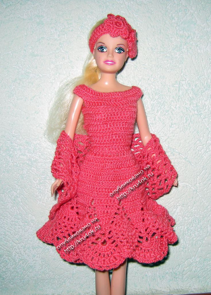 Crochet Doll Dress Luxury 75 Best Moldes Ropa Barbies Images On Pinterest Of Unique 43 Pictures Crochet Doll Dress