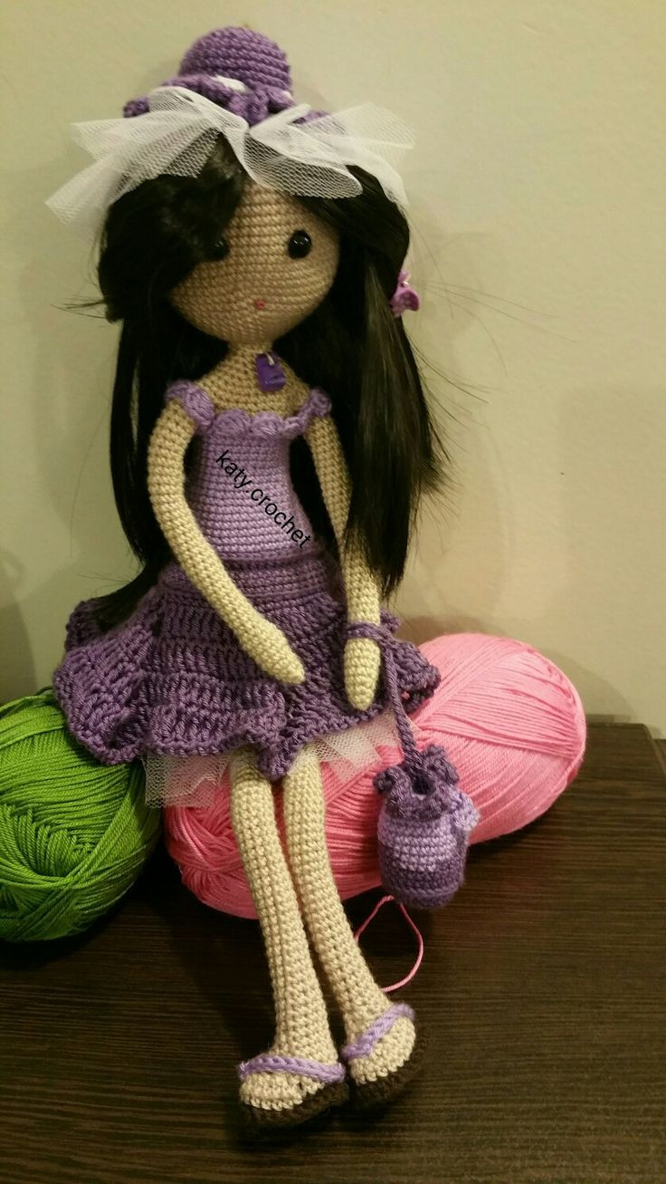 Crochet Doll Inspirational 1000 Images About Crochet Dolls On Pinterest Of Delightful 47 Pictures Crochet Doll