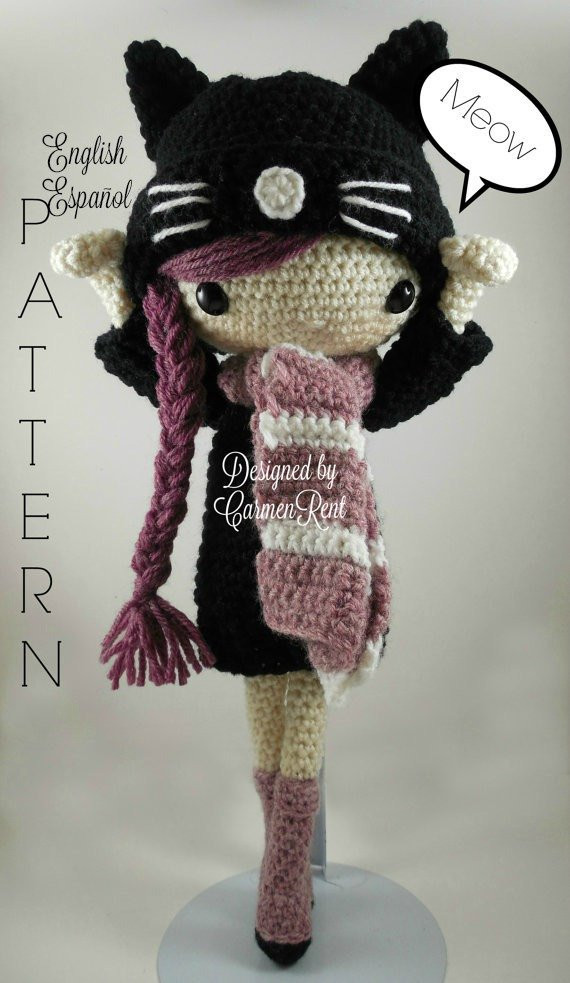 Crochet Doll Luxury Miriam Amigurumi Doll Crochet Pattern Pdf Of Crochet Doll Inspirational Snow White Doll Crochet Pattern
