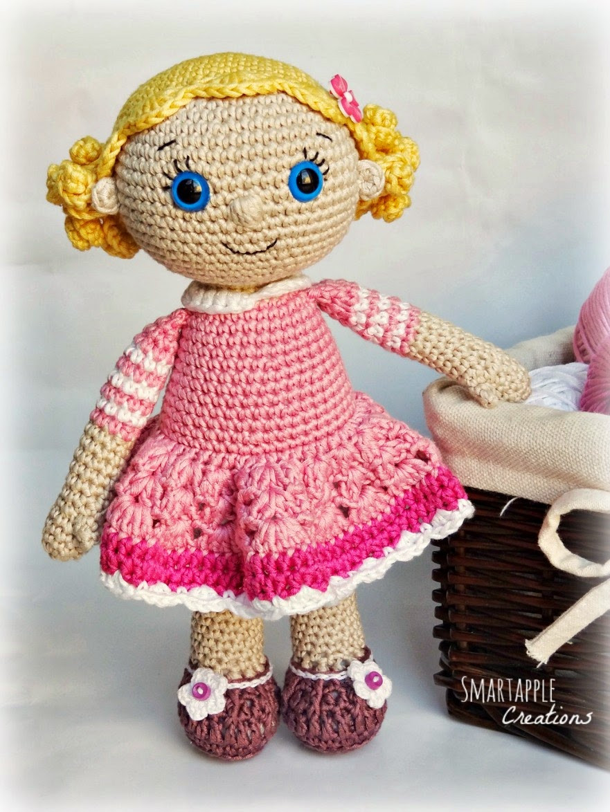 Crochet Doll Luxury Smartapple Creations Amigurumi and Crochet Emma Of Crochet Doll Inspirational Snow White Doll Crochet Pattern