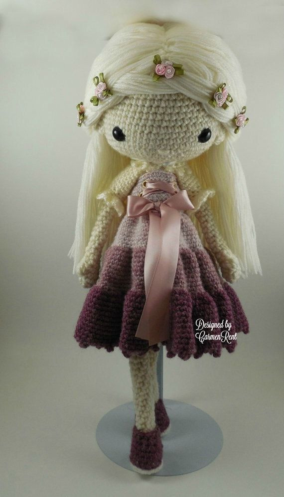Crochet Doll Patterns Best Of 1000 Ideas About Crochet Doll Pattern On Pinterest Of Adorable 42 Ideas Crochet Doll Patterns
