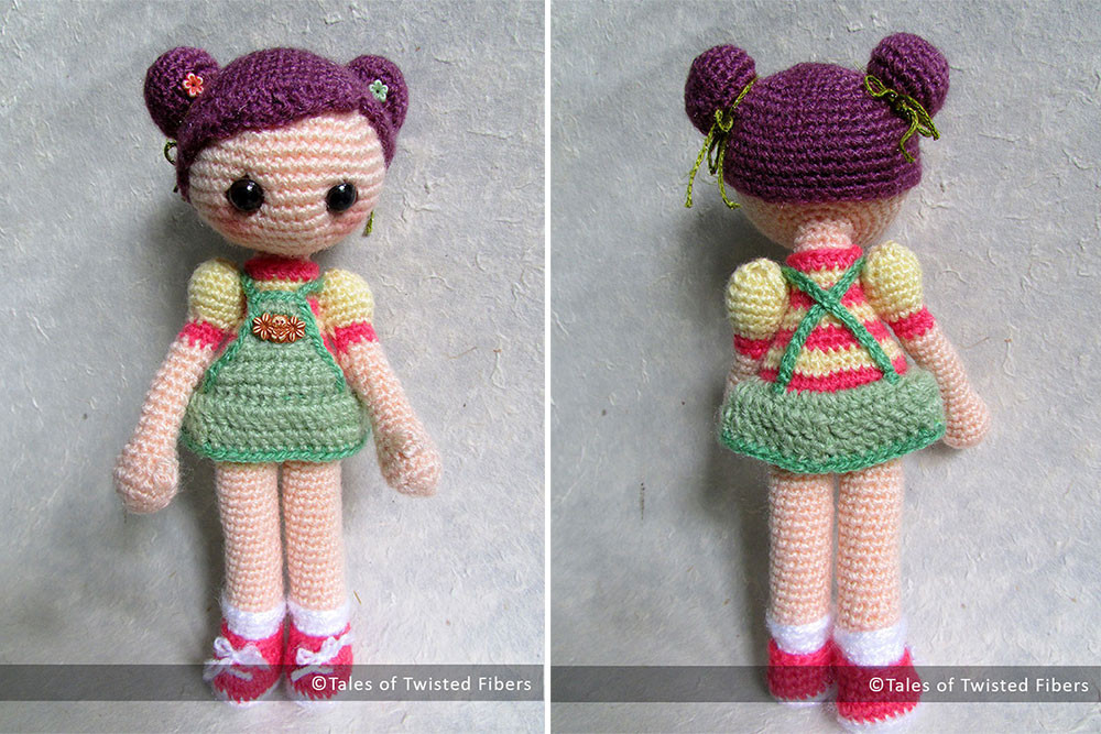 Crochet Doll Patterns Inspirational Cookie the Amigurumi Girl Free Pattern – Tales Of Twisted Of Adorable 42 Ideas Crochet Doll Patterns
