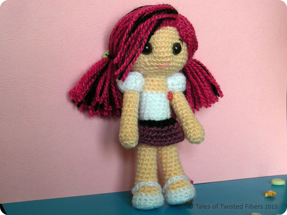 Crochet Doll Unique Amy the Amigurumi Doll Free Pattern – Tales Of Twisted Fibers Of Crochet Doll Inspirational Snow White Doll Crochet Pattern
