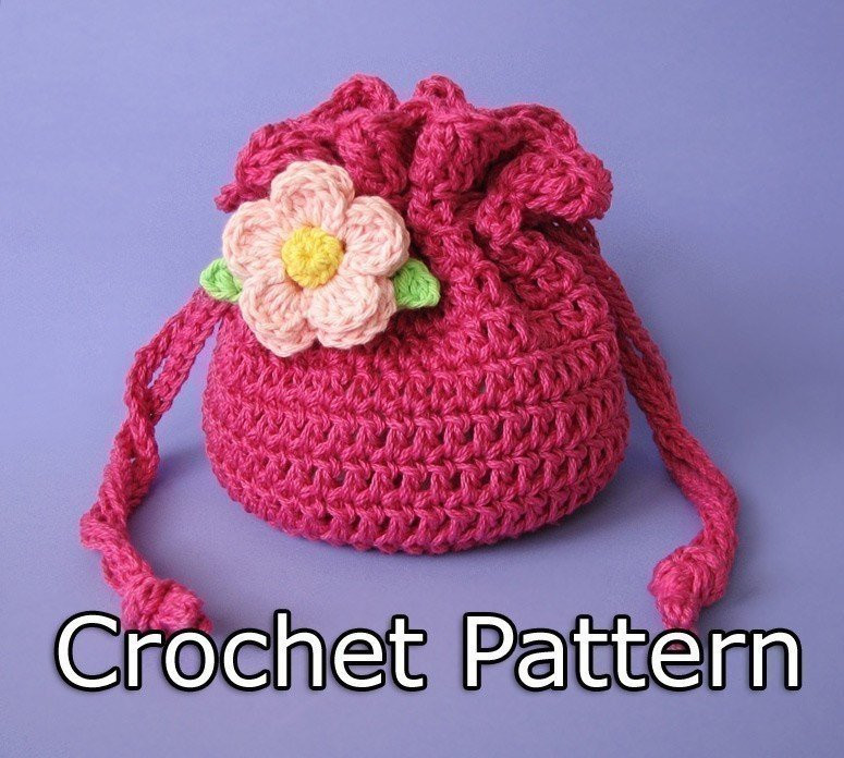 Crochet Draw String Bag Awesome Pdf Crochet Pattern Drawstring Bag Pouch Of Awesome 42 Pictures Crochet Draw String Bag