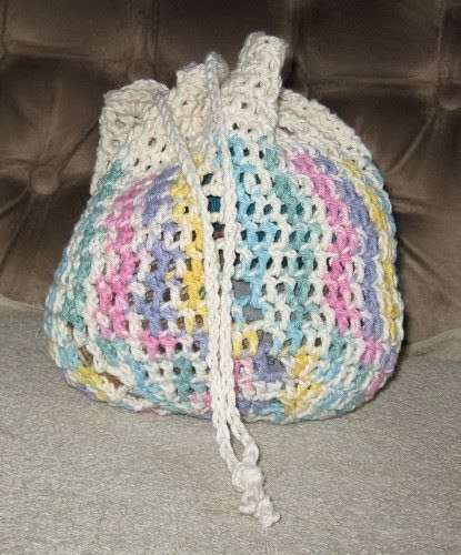 Crochet Draw String Bag Fresh Simple Knits Two Bag Patterns 1 Crochet & 1 Knit Of Awesome 42 Pictures Crochet Draw String Bag