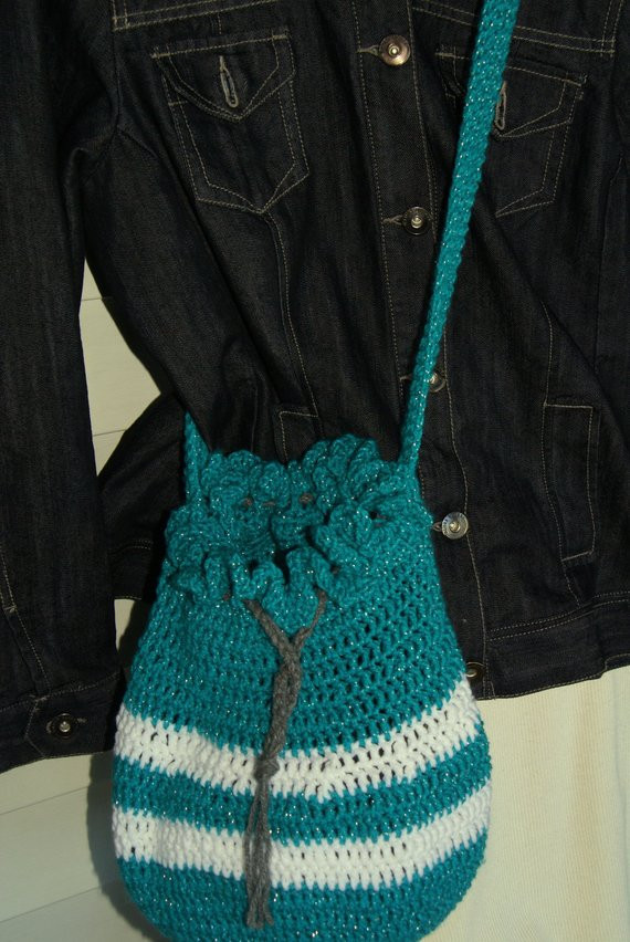 Crochet Draw String Bag Luxury Sale Crochet Drawstring Bag Purse Teal Sparkle Of Awesome 42 Pictures Crochet Draw String Bag