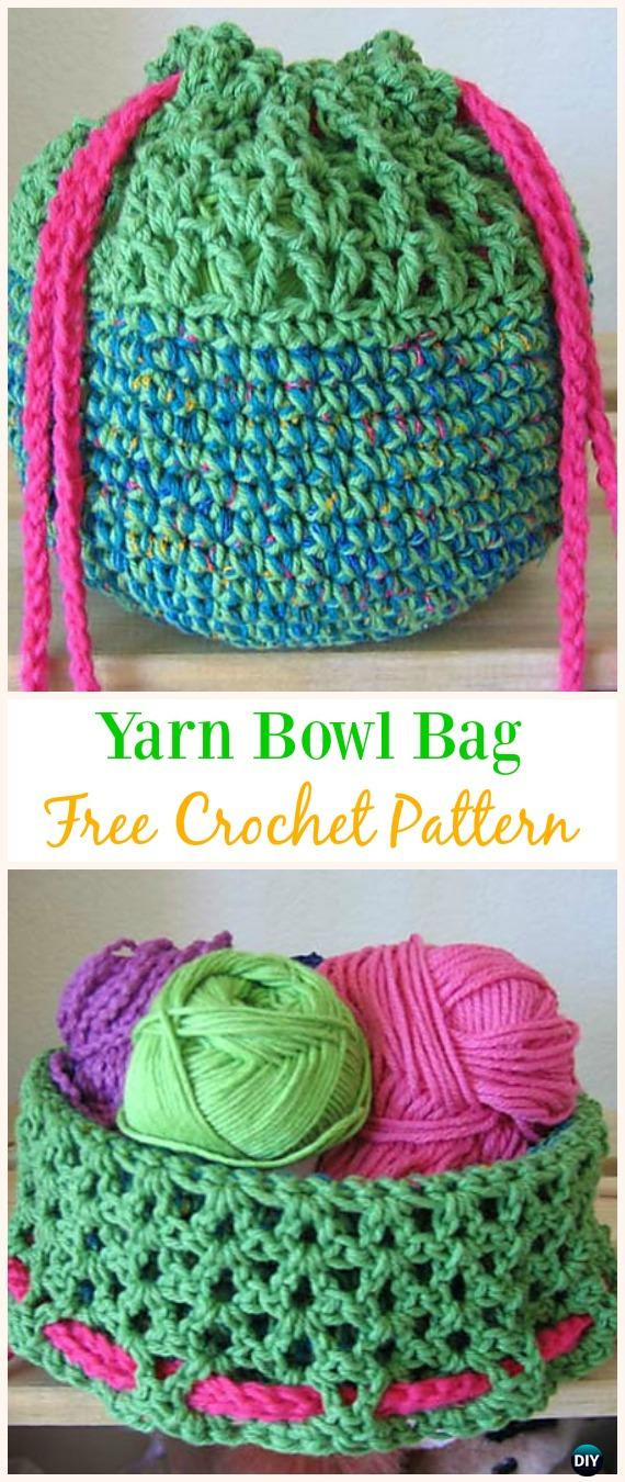 Crochet Draw String Bag New Crochet Drawstring Bags Free Patterns & Diy Tutorials Of Awesome 42 Pictures Crochet Draw String Bag