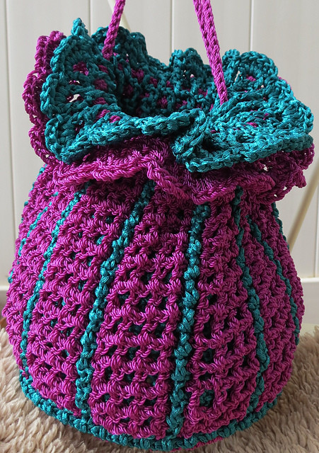 Crochet Draw String Bag Unique Crochet Patterns Galore Tulip Drawstring Purse Of Awesome 42 Pictures Crochet Draw String Bag